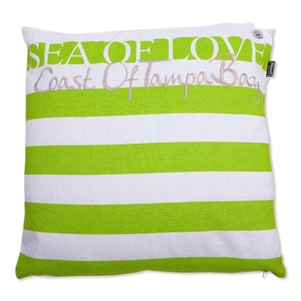 KUSSEN SEA OF LOVE 50X50CM LIME