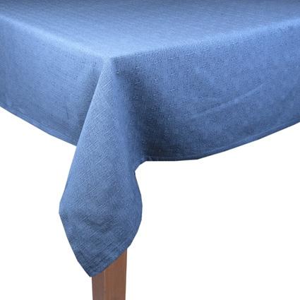 TAFELKLEED LINNEN 140X250 FADED BLUE-