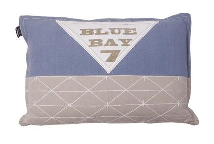 LENDEKUSSEN BLUE BAY 30X45CM FADED BLUE