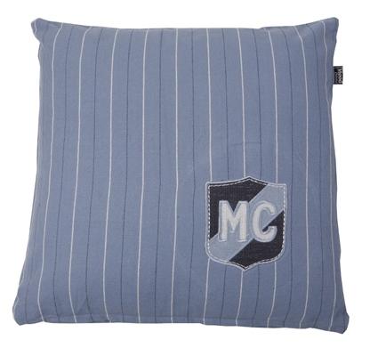 KUSSEN MC EMBLEEM 50X50CM FADED BLUE