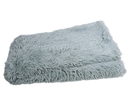 Zachte plaid Fluffy aqua