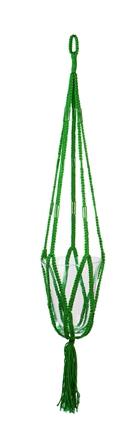 Plantenhanger MACRAME lime