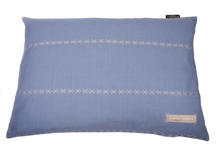 KUSSEN TRIPLE 100x70 FADED BLUE