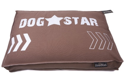 HOES BOXBED DOGSTAR 90X65X9CM TAUPE
