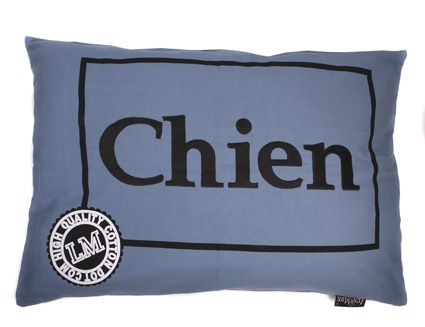 HOES CHIEN 100CMX70CM FADED BLUE