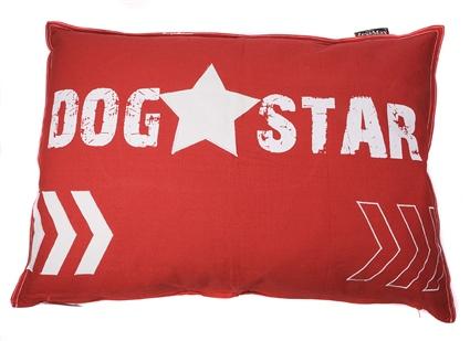 HOES DOG STAR 100CMX70CM ROOD