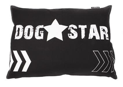 HOES DOG STAR 100CMX70CM ZWART