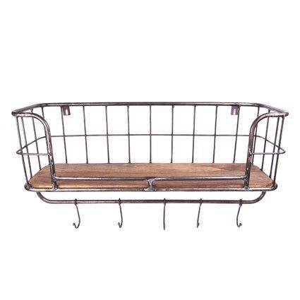 Wandkorf 1 plank 75x24x32cm